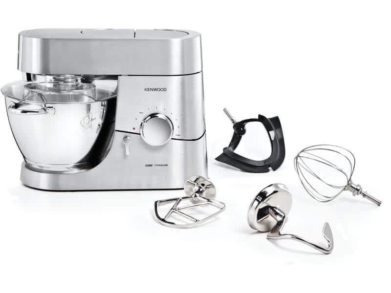 Robot pâtissier kenwood chef titanium