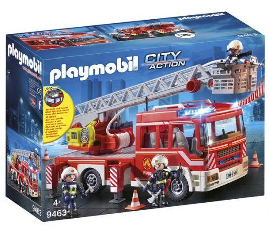 playmobil camion de pompier