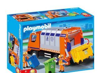 playmobil camion poubelle