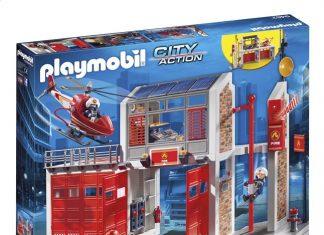playmobil caserne pompier