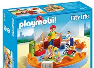 playmobil crèche