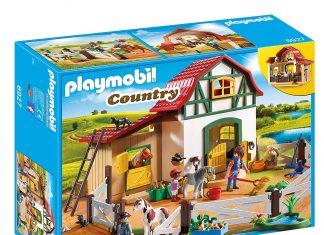 playmobil poney club